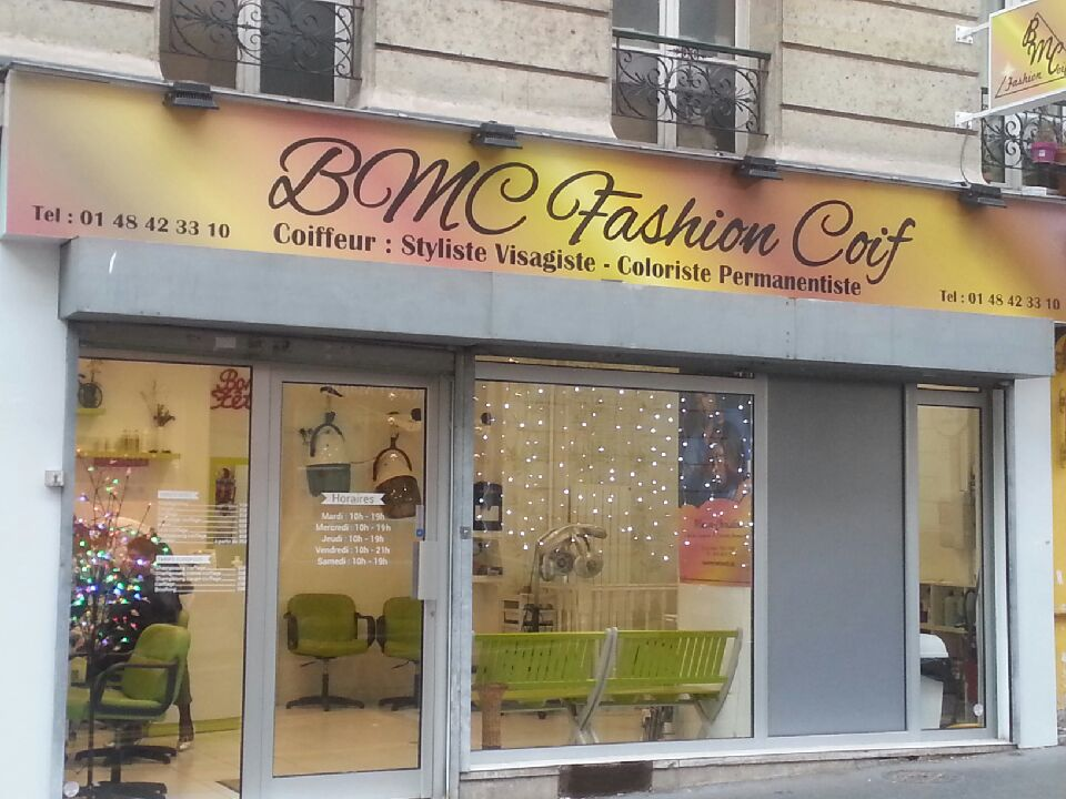 BMC Fashion Coif salon de coiffure afro-antillais à Paris